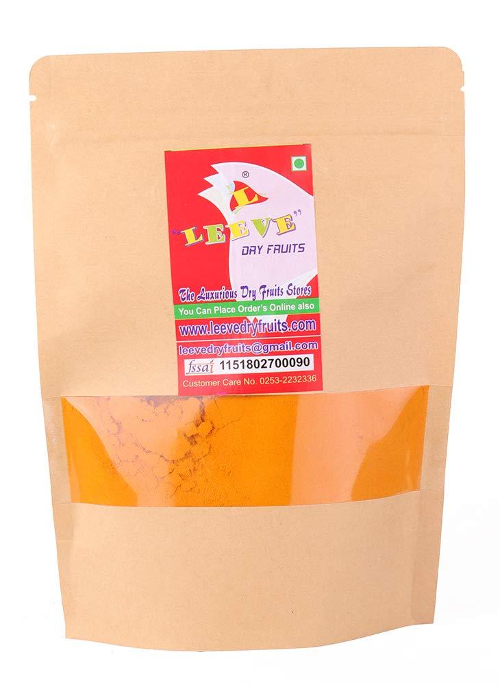 Leeve Dry Fruits Turmeric Powder Haldi Powder 200 Gram (0.44 lbs)