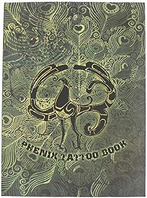 Libro de Pintura de Tatuaje Maquillaje Corporal Manuscrito Patrón ...