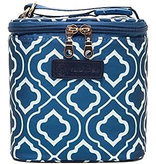 Amazon.com: Bolso para amamantar de Sarah Wells Lizzy, azul ...