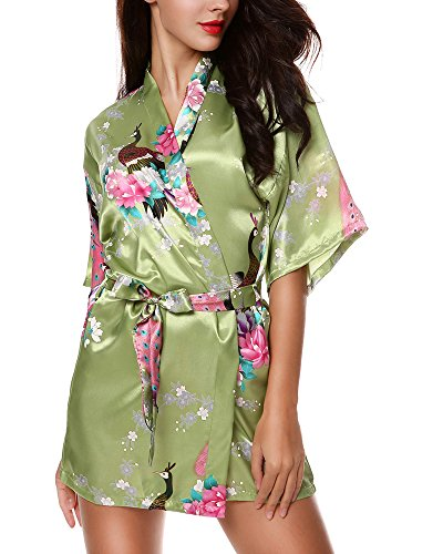 Avidlove-Womens-Robes-Modern-Celebrations-Silk-Bridesmaid-Peacock-Kimono-Robe-6-Packs