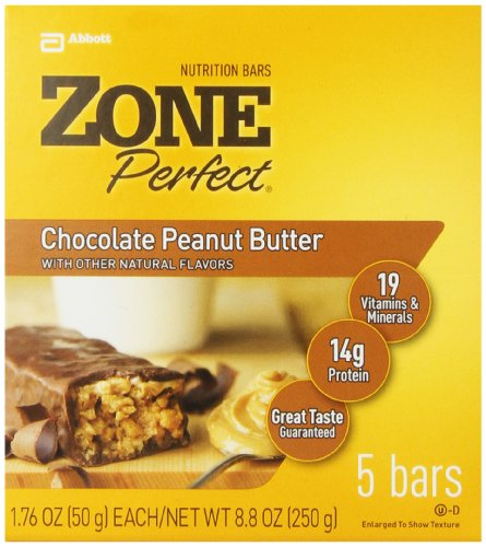 Breakfast Foods ZonePerfect Nutrition Bars, Chocolate Peanut Butter, 1 ...
