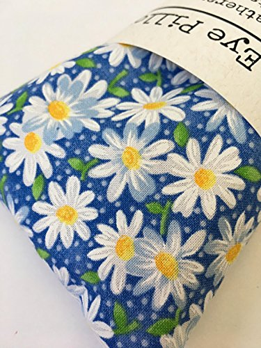aromatherapy lavender eye pillow daisies bridal shower gift sachet potpourri yoga