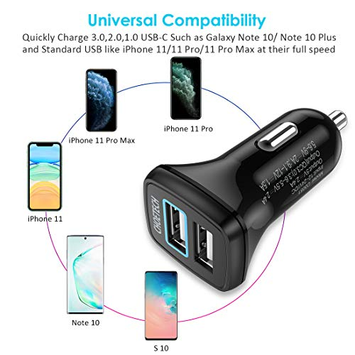 ESR 30W 2-Port USB C Charger with MFi Certified USB C to Lightning Cable Combo One 18W PD Port for iPhone 11//11 Pro//11 Pro Max//XS//XS Max//XR//X//8 iPad Pro 11
