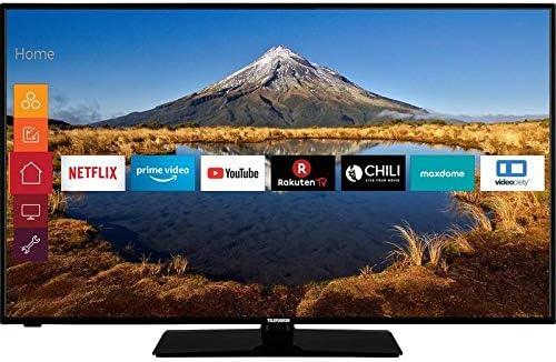TELEFUNKEN C50U446A LED-TV 127cm 50 Zoll EEK A+ (A++: Amazon.es: Electrónica