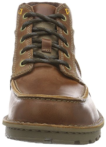 Stivaletti Leather Uomo Marrone Sawtel Summit Clarks Tan qfzBn