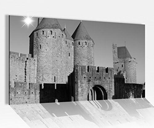 Acrílico cristal de 80 x 50 cm Tor Castillo Medieval Candado Torre Carcassonne Francia imágenes acrílico cristal Cristal imágenes 14 a4024, 80cmx50cm: Amazon.es: Hogar