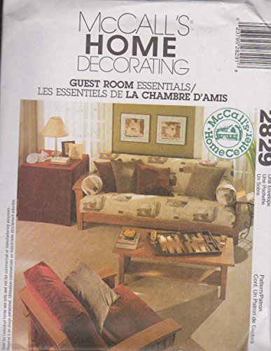 McCall's Home Decorating Pattern 2829 Guest Room Essentials