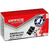 Klipy do akt 19mm Office Products 12 sztuk