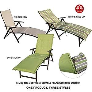 Amazon.com: Kozyard Cozy Silla de jardín plegable de ...