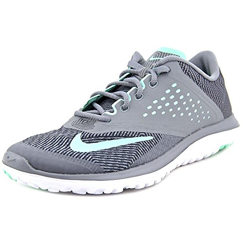 Zapatillas Para Correr Nike Mujeres Fs Lite 2 Cool Gray / Anthracite / White / Green Glow