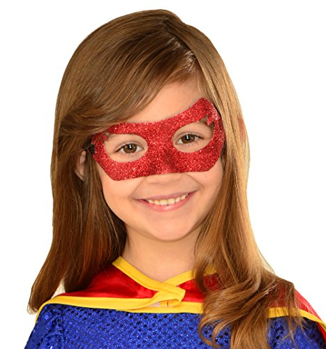 Imagine by Rubie's DC Comics Supergirl Eyemask Children Costume Accessory