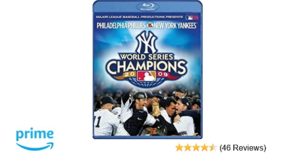 67f2f3748fea2 Amazon.com  2009 New York Yankees  The Official World Series Film   Blu-ray   Yankees