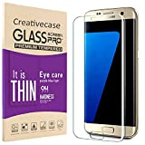Galaxy S7 Edge Screen Protector,S7 Edge Screen Protector,Creativecase [Anti-Scratch][9H Hardness][Case Friendly] Clear Tempered Glass Screen Protector for Samsung Galaxy S7 Edge (S7Edge-Clear)