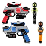 Lazer Tag Gun Set Game - Two to Four Player Laser Tag for Kids - Indoor and Outdoor Family Games
