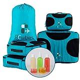 PCubes Packing cubes set - Travel cube - Luggage organizer