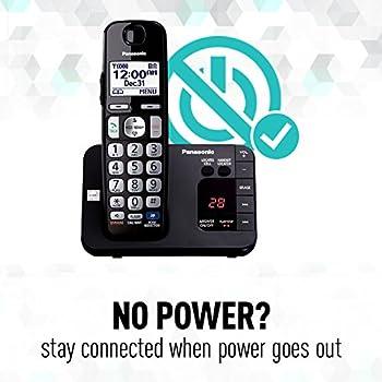 Panasonic Kx-tge233b Expandable Cordless Digital Phone With Large Keypad - 3 Handsets 6
