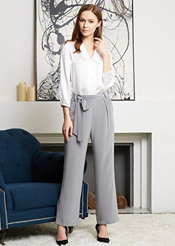LILYSILK Conjunto de Camisa de Seda 22 MM y Pantalones de Seda Natural 18MM