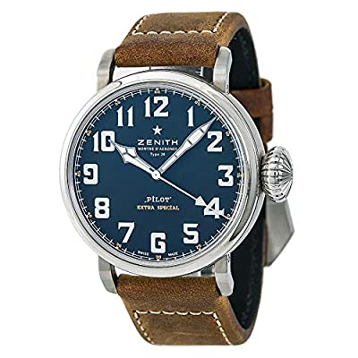 Zenith Pilot Automatic-self-Wind Male Watch 03.2430.3000/21.C738 (Certified Pre-Owned) by Zenith