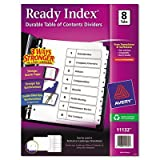 Ready Index Classic Tab Title [Set of 3]