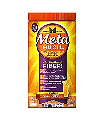 Metamucil Psyllium Fiber Supplement