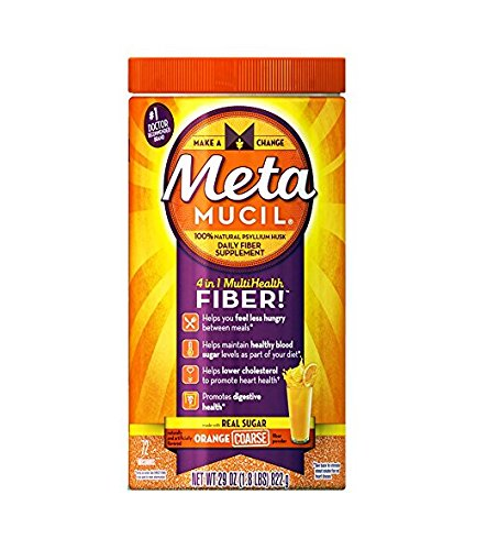 Metamucil Psyllium Fiber Supplement