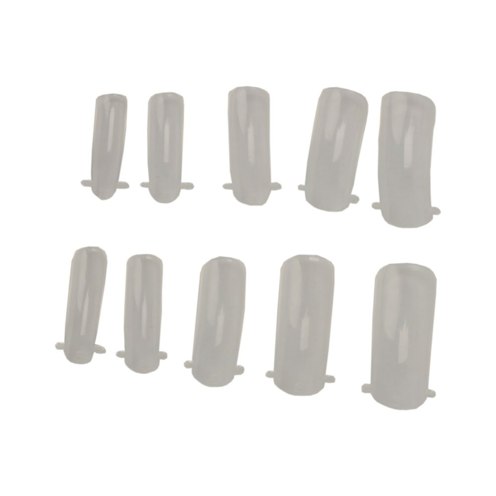 So Beauty 100pcs Dual Nail System Form for Uv Acrylic Nail Art Tip