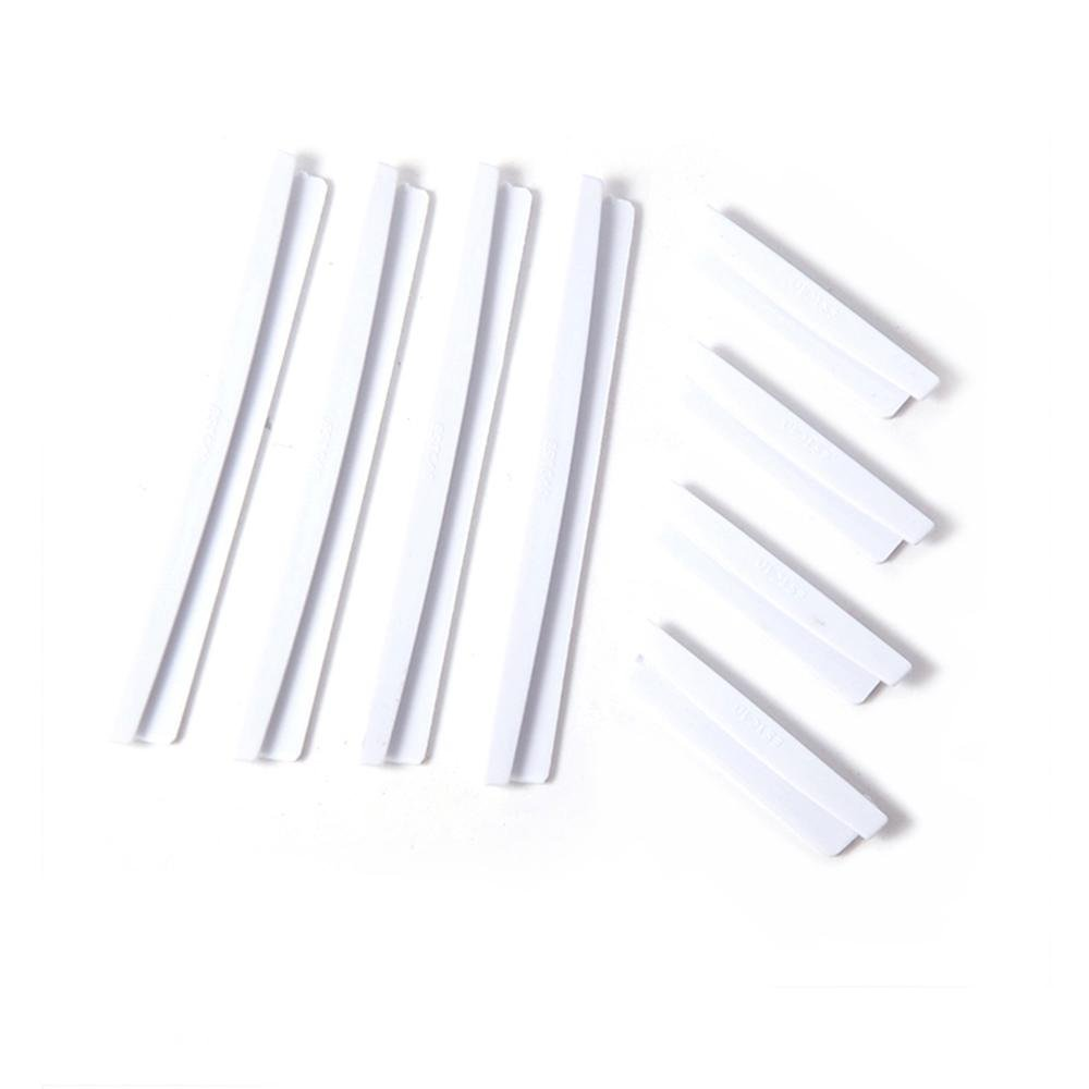 Car Door Edge Guards, KOBWA Defender Protector Slim Bumper Strip Molding Protection Anti-rub Scratch Protector with 3M Tape Fit for Most Car (8 Pcs Set)