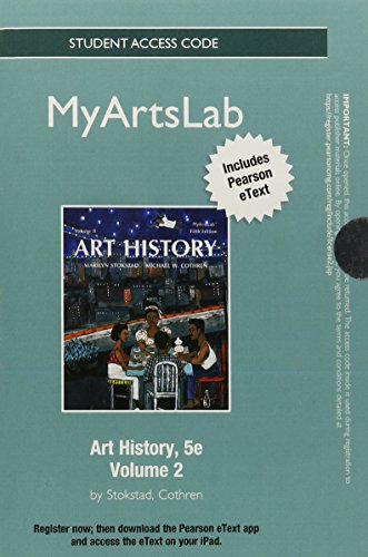NEW MyLab Arts with Pearson eText -- Standalone Access Card -- for Art History Volume 2