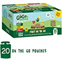 20-Count GoGo squeeZ Applesauce on the Go, 3.2 Ounce (Variety Pack)