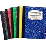 Marbled Composition Notebooks College Ruled 100 Page 5color-5pack