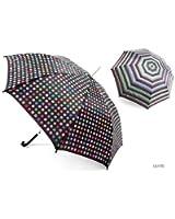 Ladies/Womens Automatic Patterned Walking Umbrella