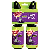 Scotch-Brite Pet Hair Roller, Twin Pack, 70-Sheets/Roller, 2 Rollers/Pack (140 Sheets Total)
