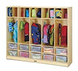 Jonti-Craft 26859JC Large Locker Organizer without Tubs
