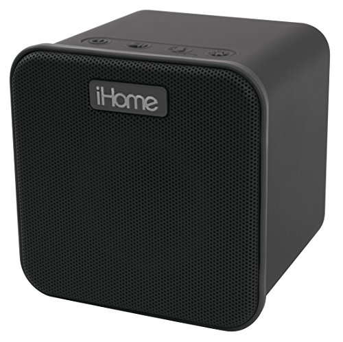 iHome iBT58 Rechargeable Bluetooth Wireless Speaker with Light Up Cone and Voice Control