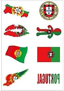 /édition 2018 Couleurs nationales du Portugal Lot de 10/fanions Newin Star Pour les fans de la Coupe du monde