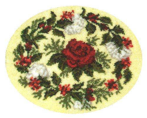 MCG Textiles 37701 Rose of Joy Latch Hook Rug Kit