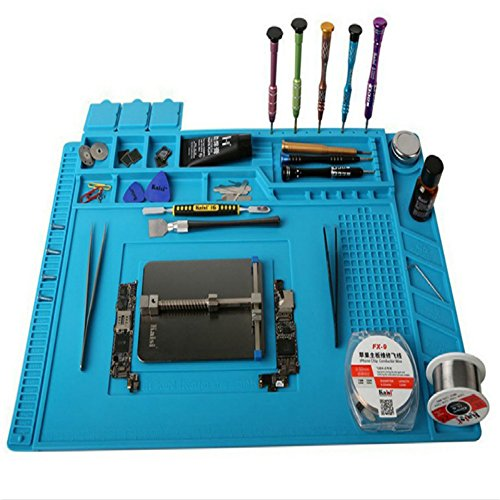 NEW Portable Foldable Silicone Workbench for Soldering Iron Maintenance Tools for Telephone and Computer Repair