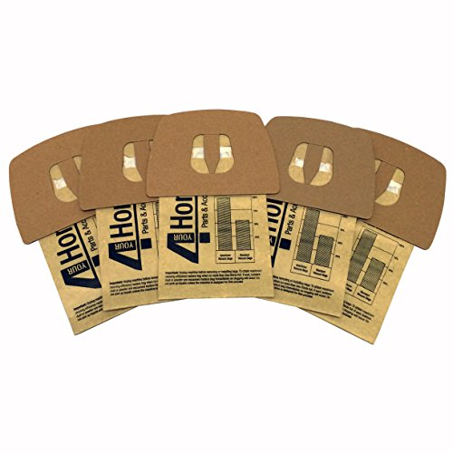 5-Pack Paper Dust Bag Designed to fit Dirt Devil F (5 Paper Dust Bags)