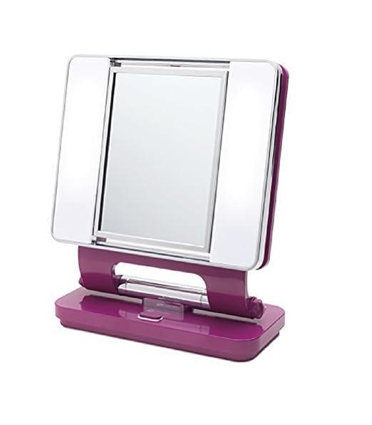 Ott-lite Natural Daylight Makeup Mirror (Purple)