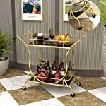 ELLENS-Rolling-Hotel-Service-Car-Vintage-Bar-Cart-Dining-Car-with-Tempered-Glass-Tea-Serving-Bar-Cart-with-4-Brake-Wheels-Gold
