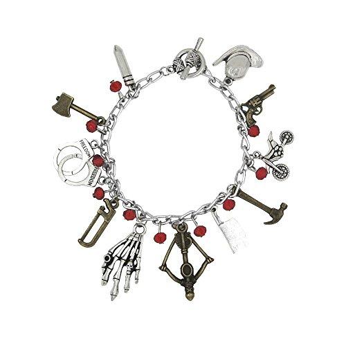walking-dead-tv-series-11-charms-silvertone-charm-bracelet
