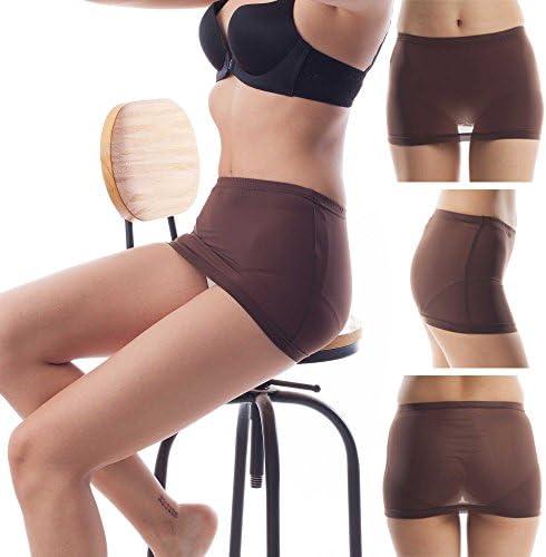 ElsaYX Women's Ultra Thin Sheer Mini Skirts 6 Pairs