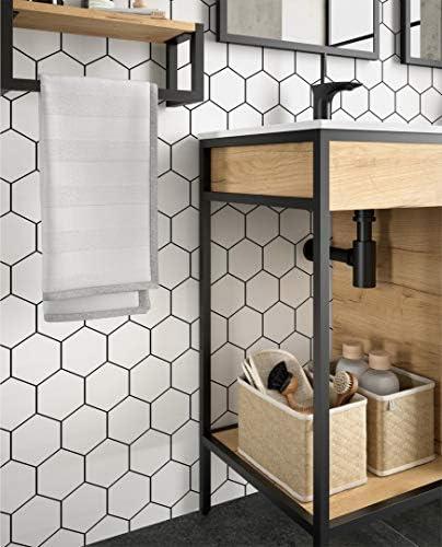 Vinci - Juego de muebles de baño (lavabo de 85 cm, armario ...