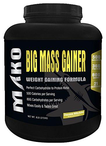MAKO NUTRITION Big Mass Gainer Weight Gaining Formula, Ch...