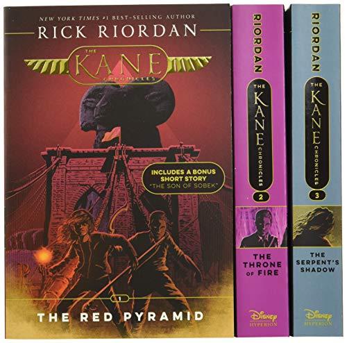 Kane Chronicles, The Paperback Box Set (The Kane Chronicles Box Set with Graphic Novel Sampler)