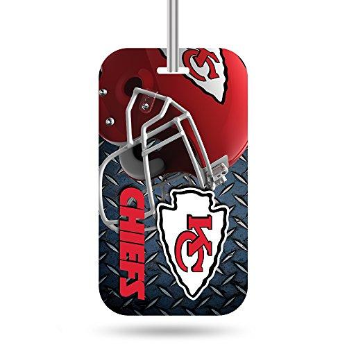 fs  Crystal View Team Luggage Tag, Steel Blue, 7.5-inches by 3-inches by 0.5-inch (Kansas Crystal)