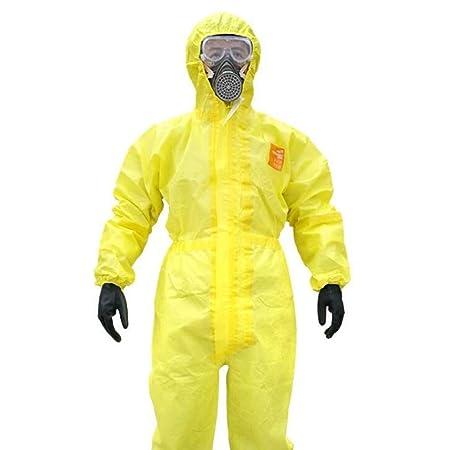 Official IT Traje de protección química siamés, Ropa ...