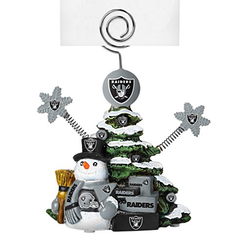 NFL Oakland Raiders Tree Photo Holder
