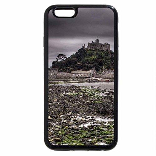 iPhone 6S / iPhone 6 Case (Black) wonderful st. michael's mount hdr