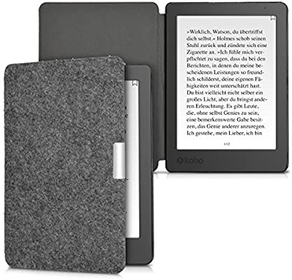 kwmobile Funda compatible con e-Reader Kobo Aura Edition 2 -Case ...
